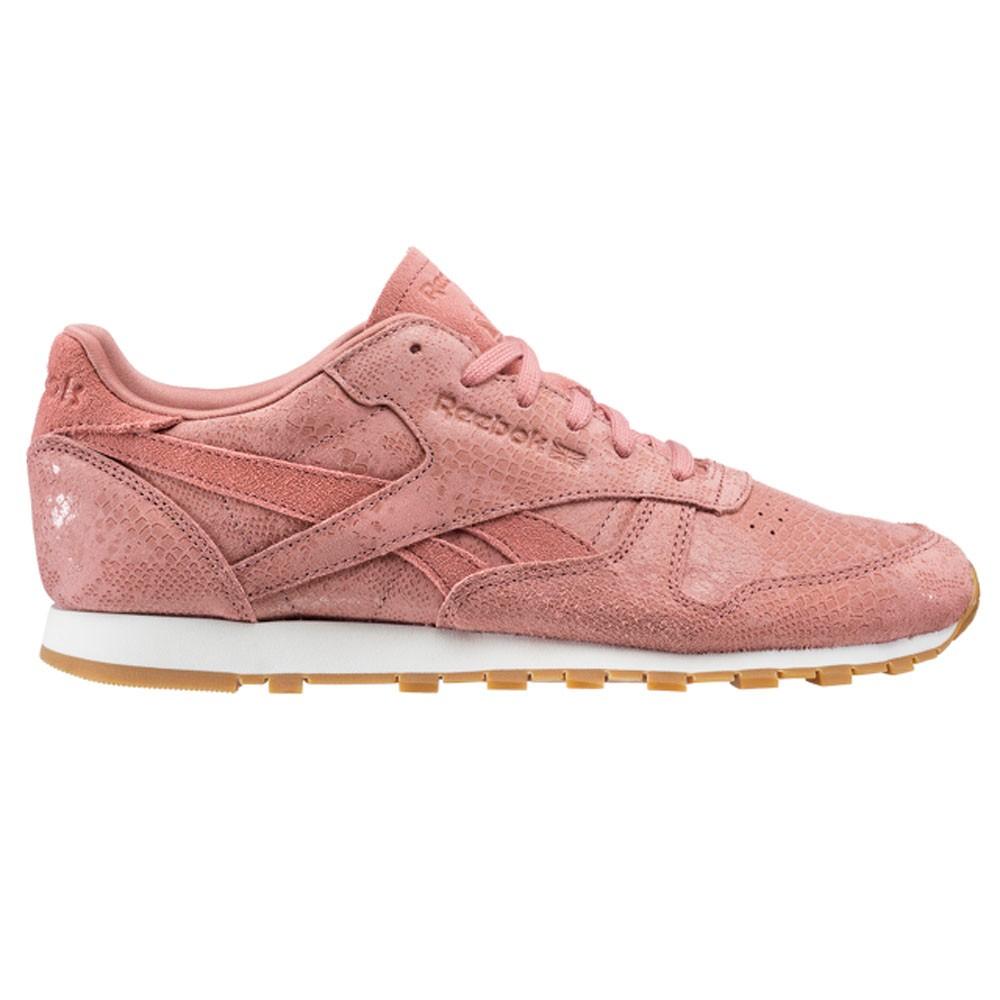 dbb6fd01701886 Details about Reebok Classic Leather Clean Exotics (SANDY ROSE CHALK GUM) Women s  Shoes BS8226
