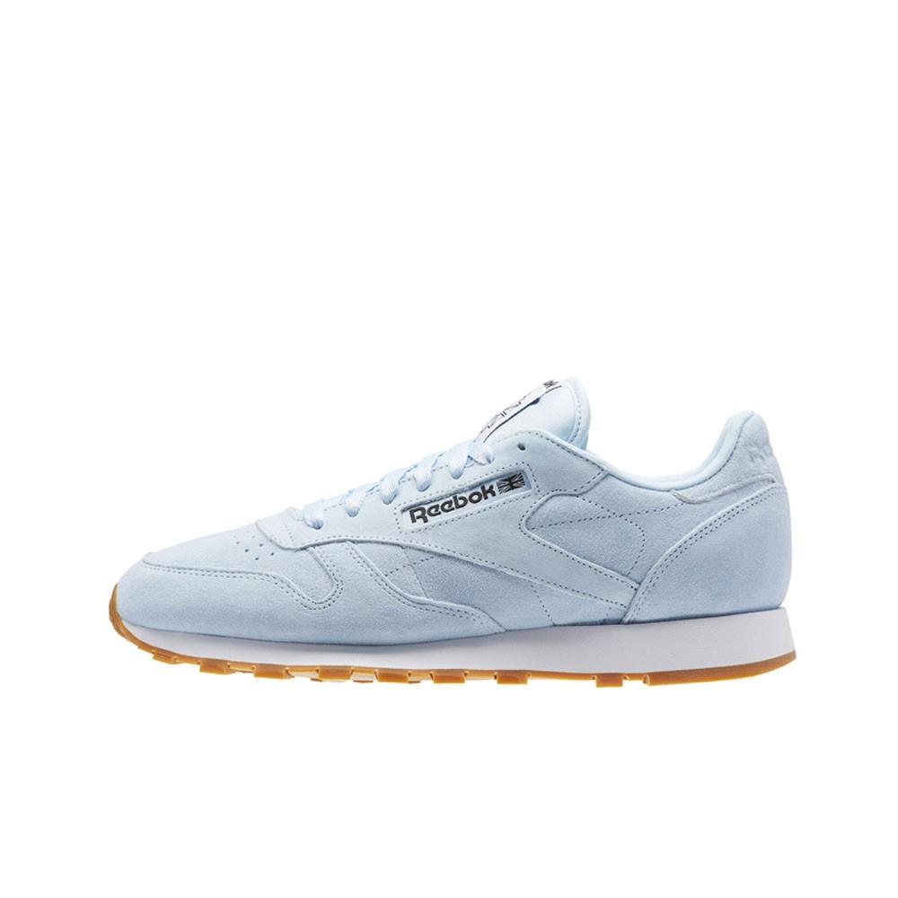 077440c15 Details about Reebok Classic Leather Pastels (FRESH BLUE CLASSIC WHITE )  Men s Shoes BS8967