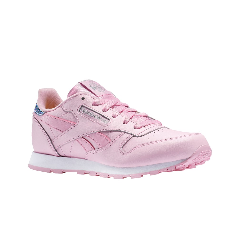 Details about Reebok Classic Leather Pastel (CHARMING PINK) Grade School Kids Shoes BS8972