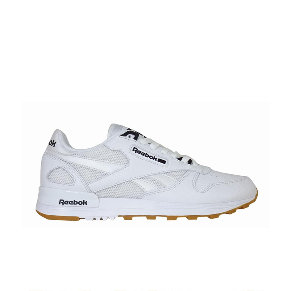 huge selection of e94b3 b17b6 Details about Reebok Classic Leather 2.0 (WHITE BLACK-GUM) Men s Shoes  BS9004