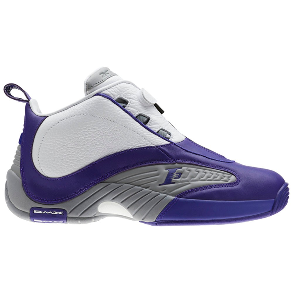Reebok Answer Iv Pe (TEAM PURPLE FLAT GREY WHI) Men s Shoes BS9847 ... 5e6341e3c