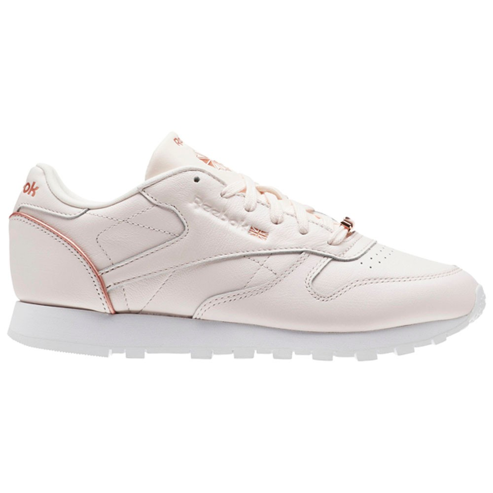 8d417e4066741 Reebok Classic Leather Hw (PALE PINK ROSE GOLD WHITE) Women s Shoes BS9880