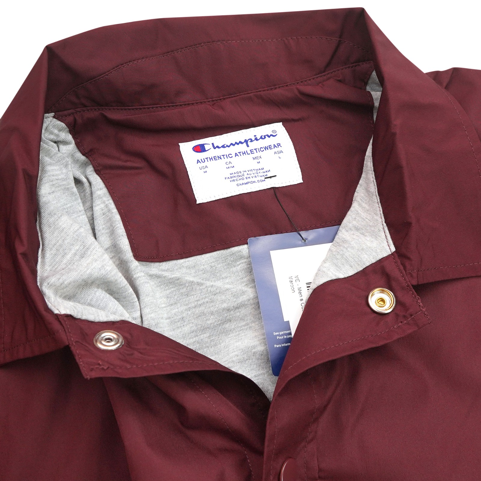thumbnail 7 - Champion NCAA Men's Classic Coaches Jacket Collection