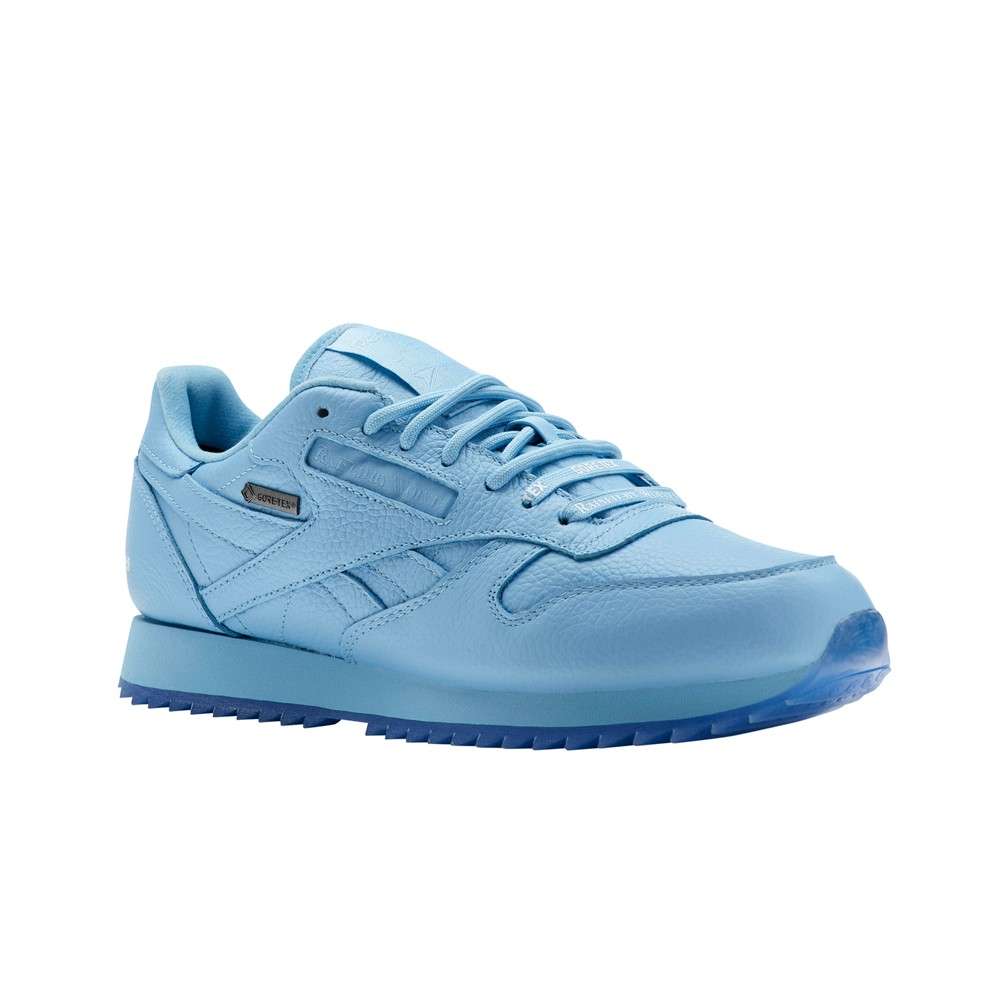 f46f1854864 Details about Reebok Classic Leather X Raised By Wolves Ripple Gtx (BLUE) Men s  Shoes CN0254