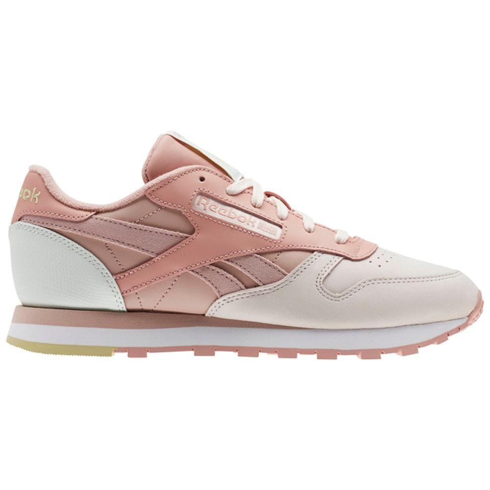 04d52f860e6b72 Reebok Classic Leather Pm (PALE PINK SHELL PNK CHLK) Women s Shoes CN0361