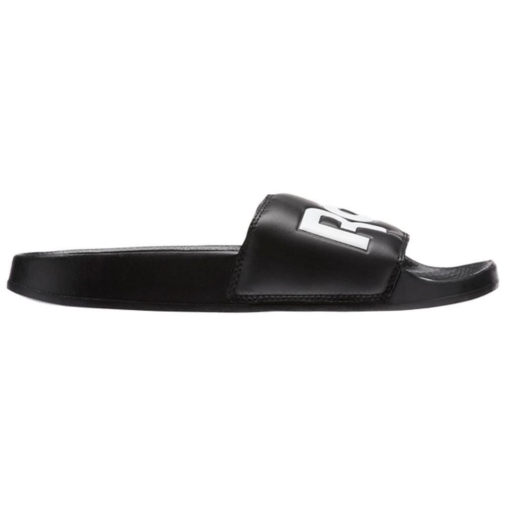 0655486a37d Reebok Reebok Classic Slide (SPLT-BLACK WHITE) Unisex Shoes CN0735 ...