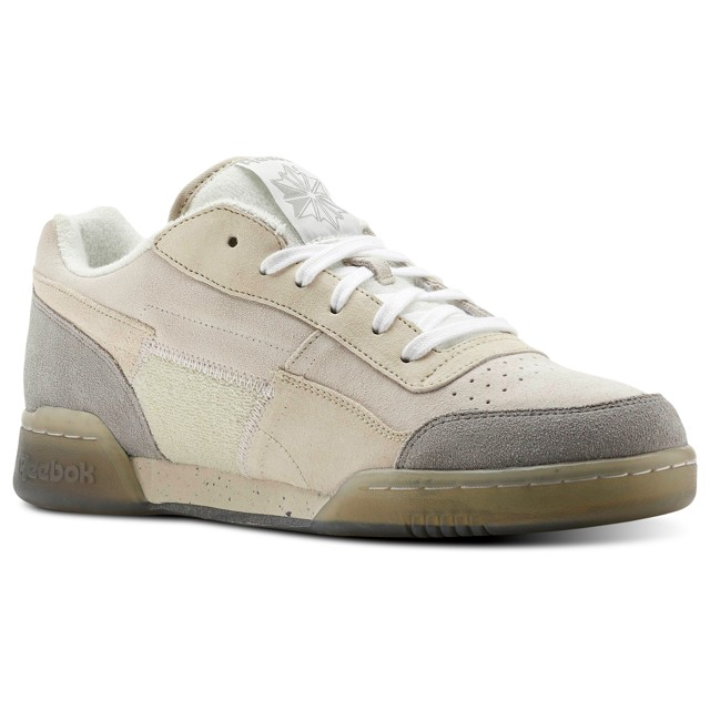 b05afc7f05f9 Reebok Workout Plus Tribute (Off White Grey-Ice) Men s Shoes CN2115 ...