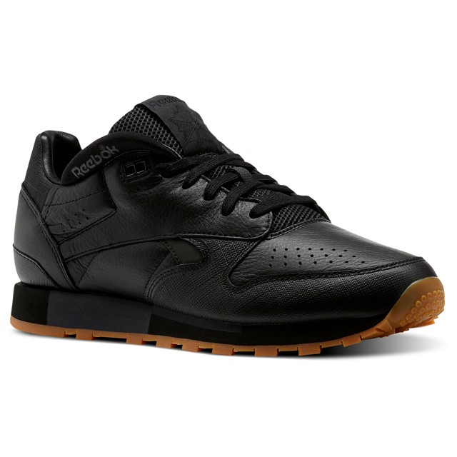 7173106faa Details about Reebok Classic Leather Urge (Black/Black) Men's Shoes CN2178