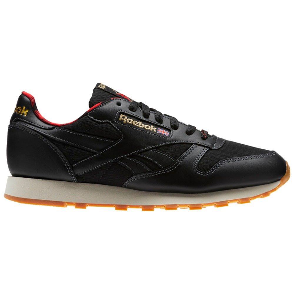 e11fed8261d92d Details about Reebok Classic Leather Lj (BLACK PRIMAL RED GOLD PAP) Men s  Shoes CN2276