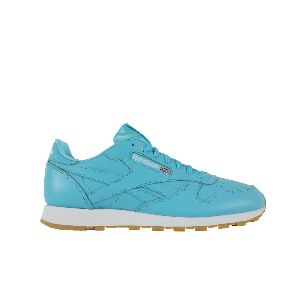 87823fc375b Details about Reebok Classic Leather Gum (CRISP BLUE WHITE-GUM) Men s Shoes  CN3993