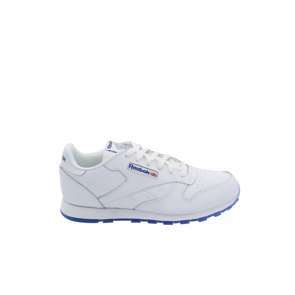 accbb40f65d59 Reebok Classic Leather Ice (WHITE REEBOK ROYAL) Grade School Kids Shoes  CN7334