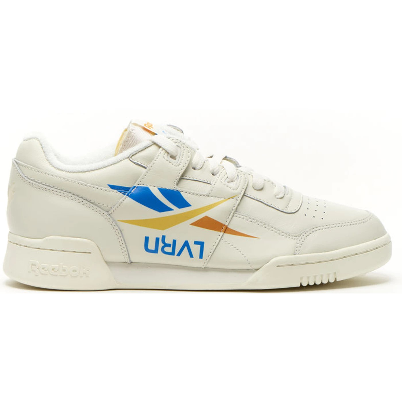 067e30a5fa61e Details about Reebok Workout Plus x 3AM ATL (Lvrn-Chalk Blue Yellow Or) Men s  Shoes DV4844