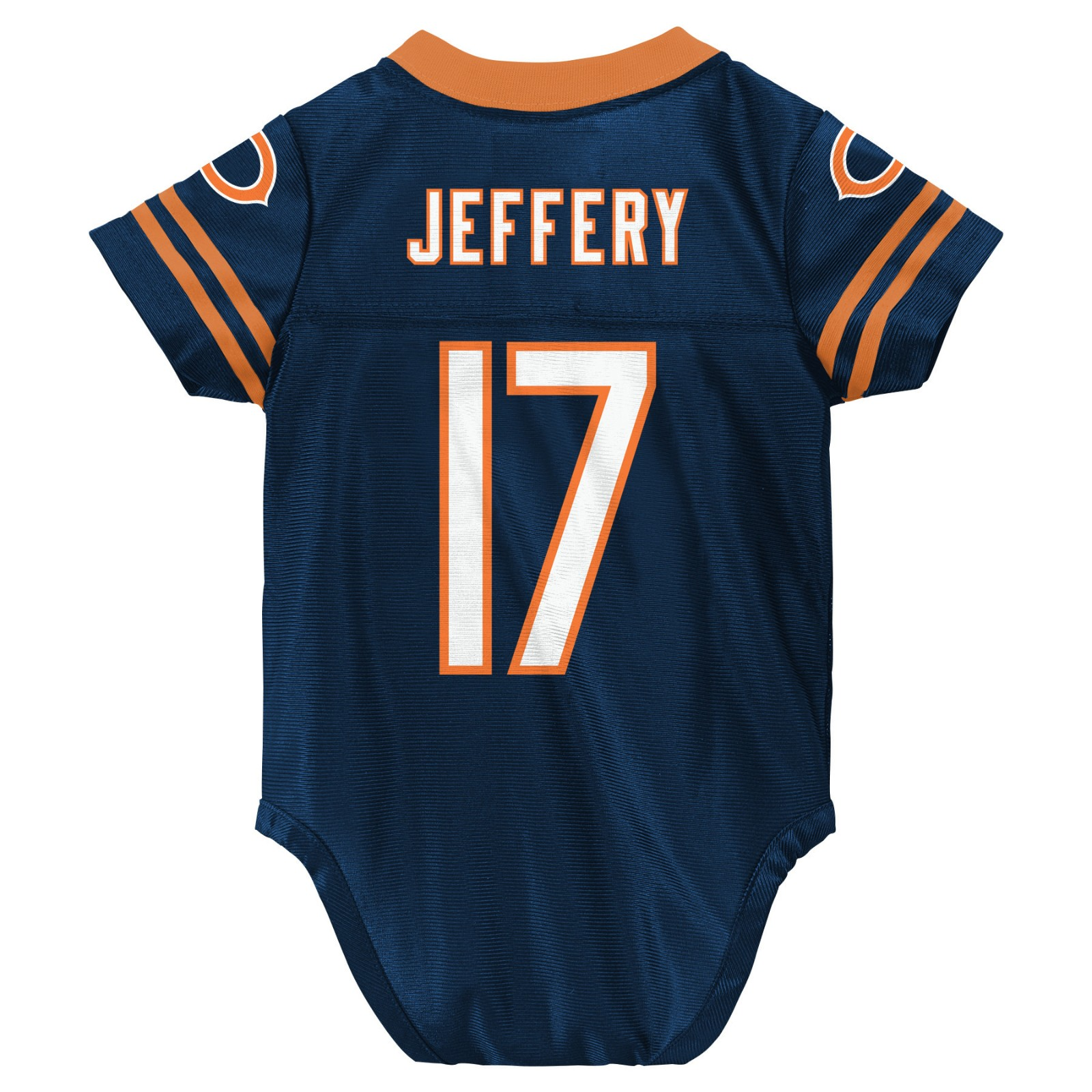 new product 5f30a 24128 Details about Alshon Jeffery NFL Chicago Bears Home Infant Newborn Creeper  Jersey (3-9M)