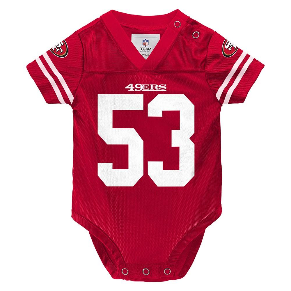 959b845b0fb NFL Team Player Creeper Jersey Collection Infant Newborn Size (3-24 ...
