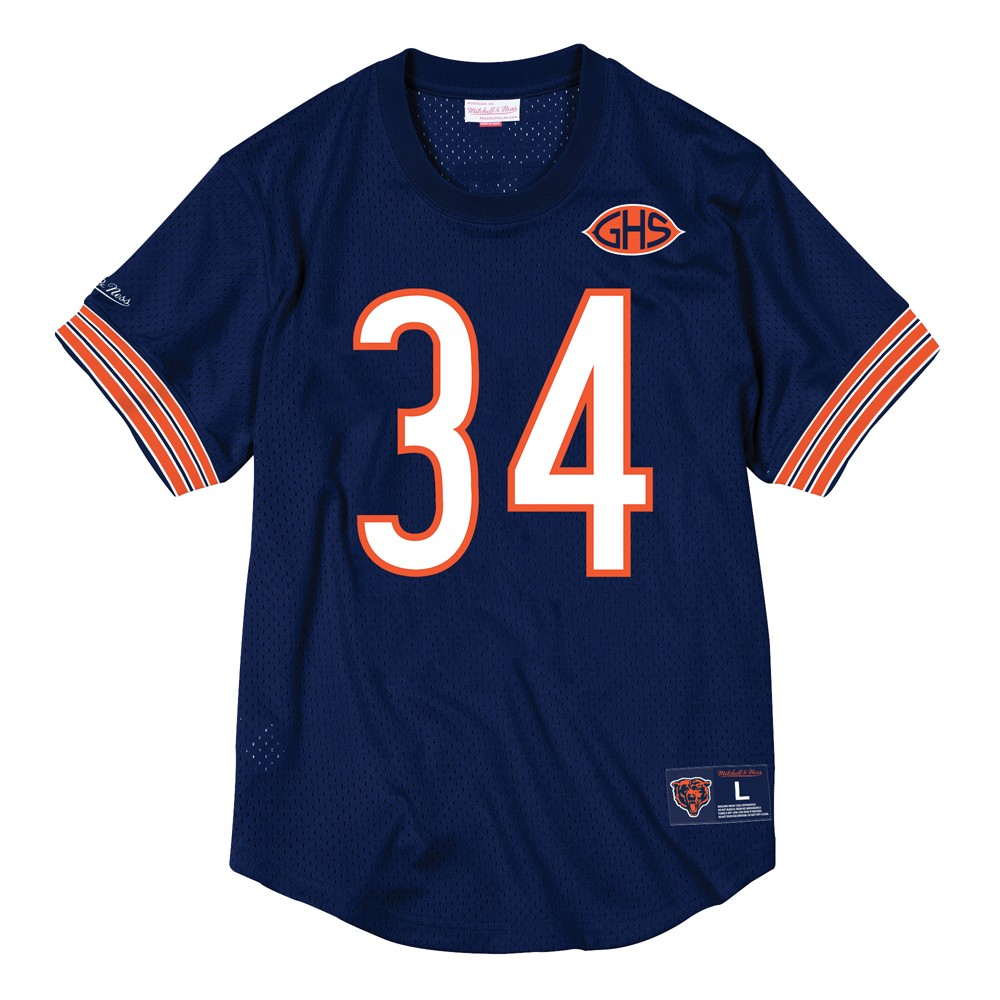 2f76c660546 NFL Mitchell   Ness Mesh Name   Number Crew Neck Jersey Collection ...