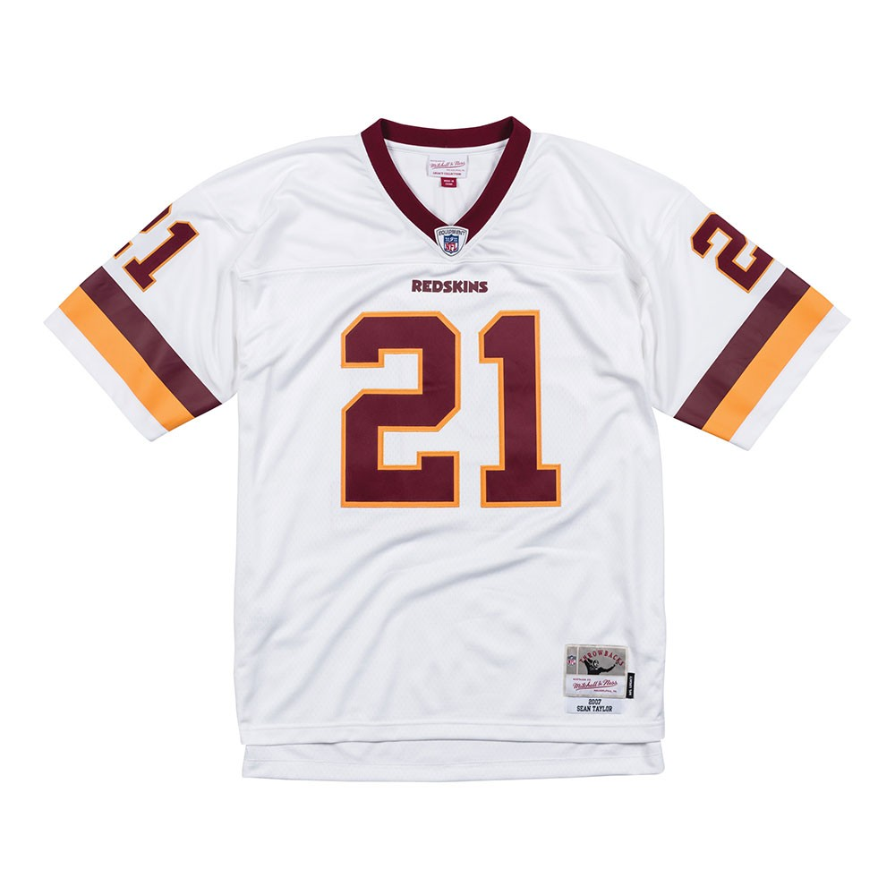 NFL-Mitchell-amp-Ness-Throwback-Player-Road-White-Legacy-Jersey-Collection-Men-039-s thumbnail 62