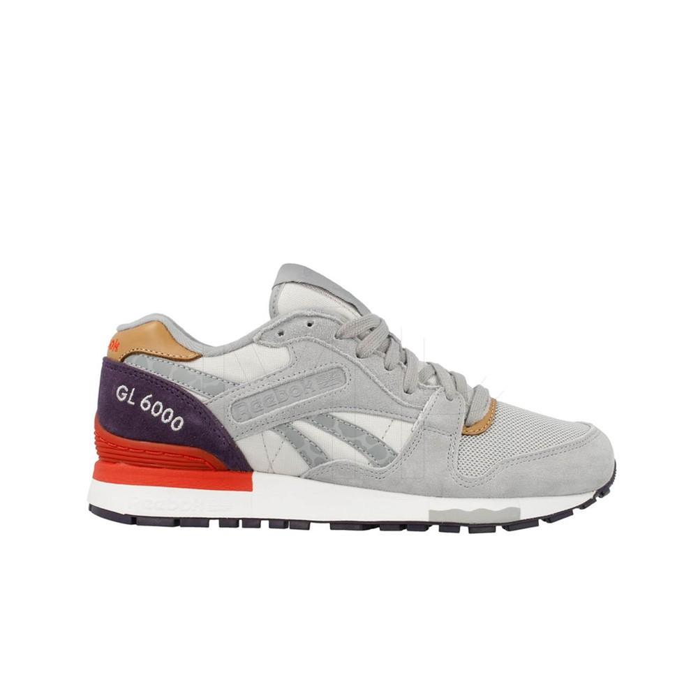 4c8838b4236 Reebok GL 6000 Camo (Purple Tin Grey Blue White) Women s Shoes M41773