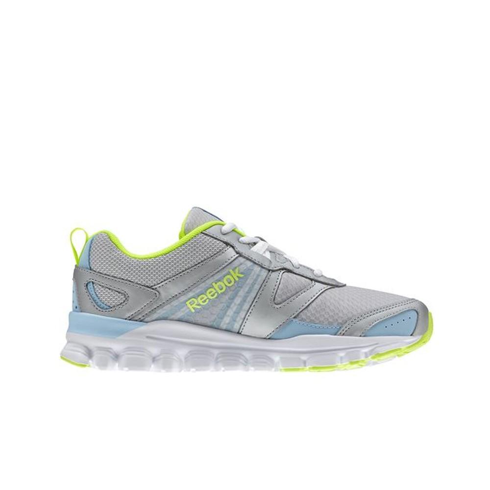 321a1aaf7a8 Reebok Hexaffect Run (Silver Denim Yellow White) Women s Shoes M47500