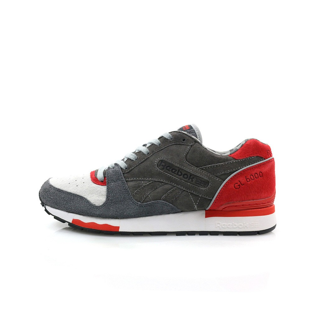 aea62c99909 Details about Reebok GL 6000 x HANON (MED GREY SOLID GREY CARBON TECHY)  MEN S SHOES M48169