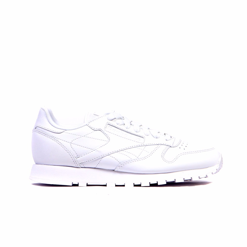 852639d8ae Details about Reebok Classic Leather (US-WHITE/WHITE/WHITE) Men's Shoes  J90117