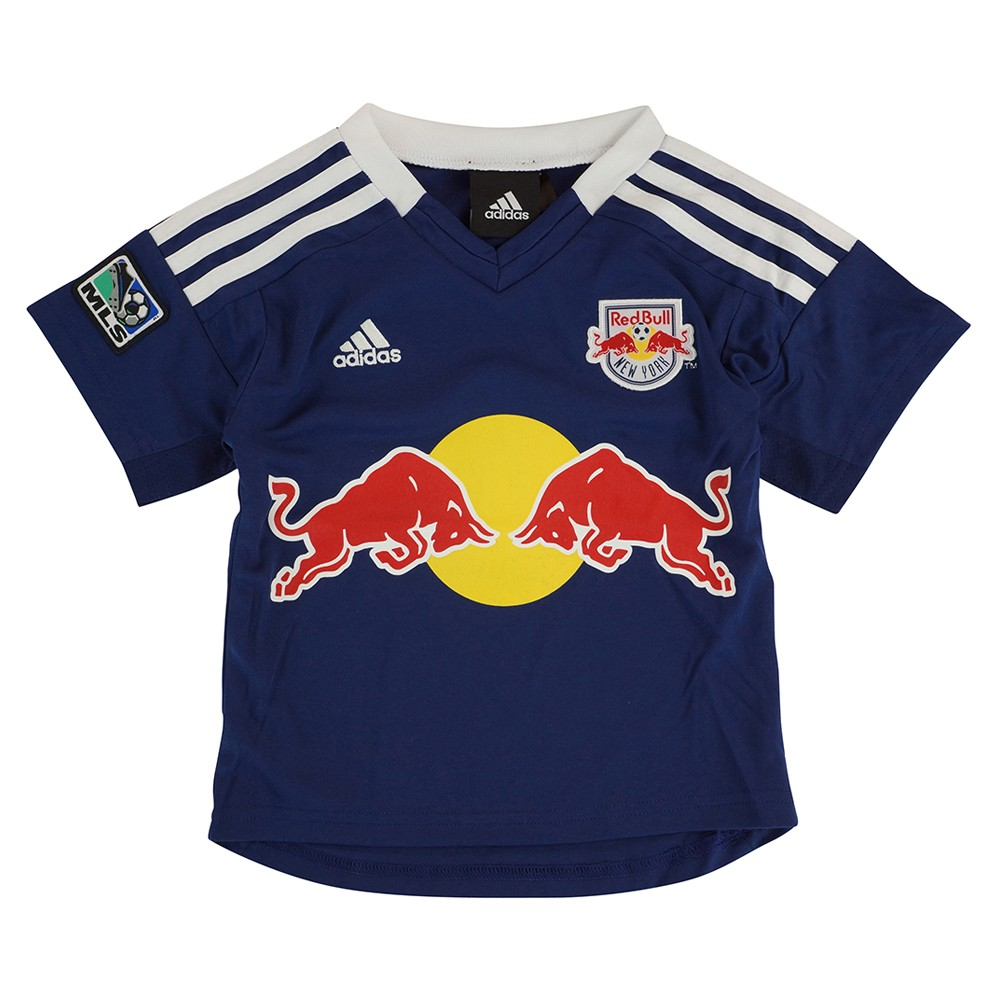 New York Red Bulls Adidas MLS Toddler Away Navy Blue Soccer Jersey ... 53022347405b0