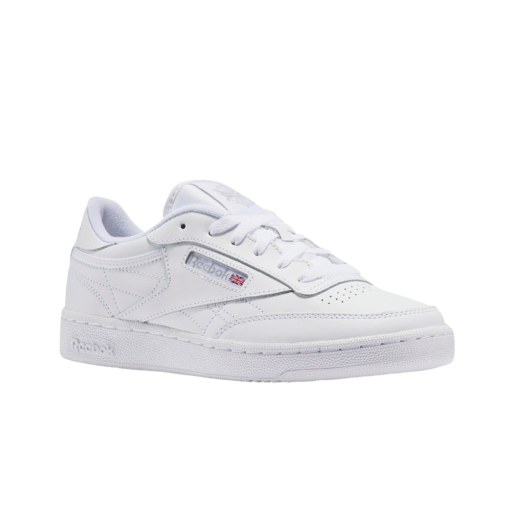 9eb58cbbb48b Reebok Club C (WHITE SHEER GREY) Grade School Kids Shoes V50438