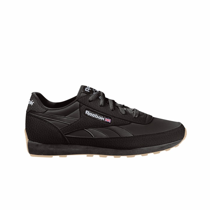 af0e2408b13e50 Details about Reebok Classic Leather Renaissance Gum (US-BLACK WHITE GUM)  Men s Shoes V67369
