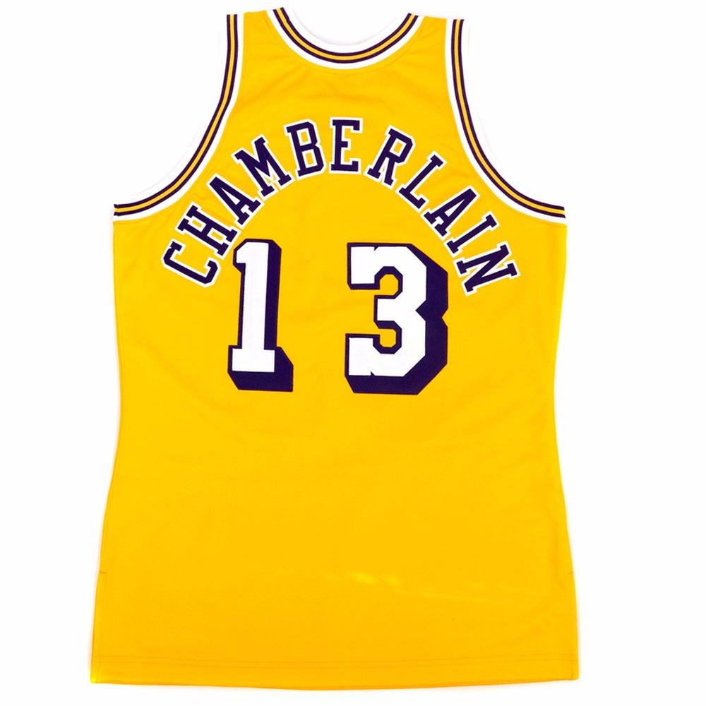 043a3d33fdb Wilt Chamberlain 13 Los Angeles Lakers Mitchell Ness Hardwood Classics  Jersey 58 Click ...