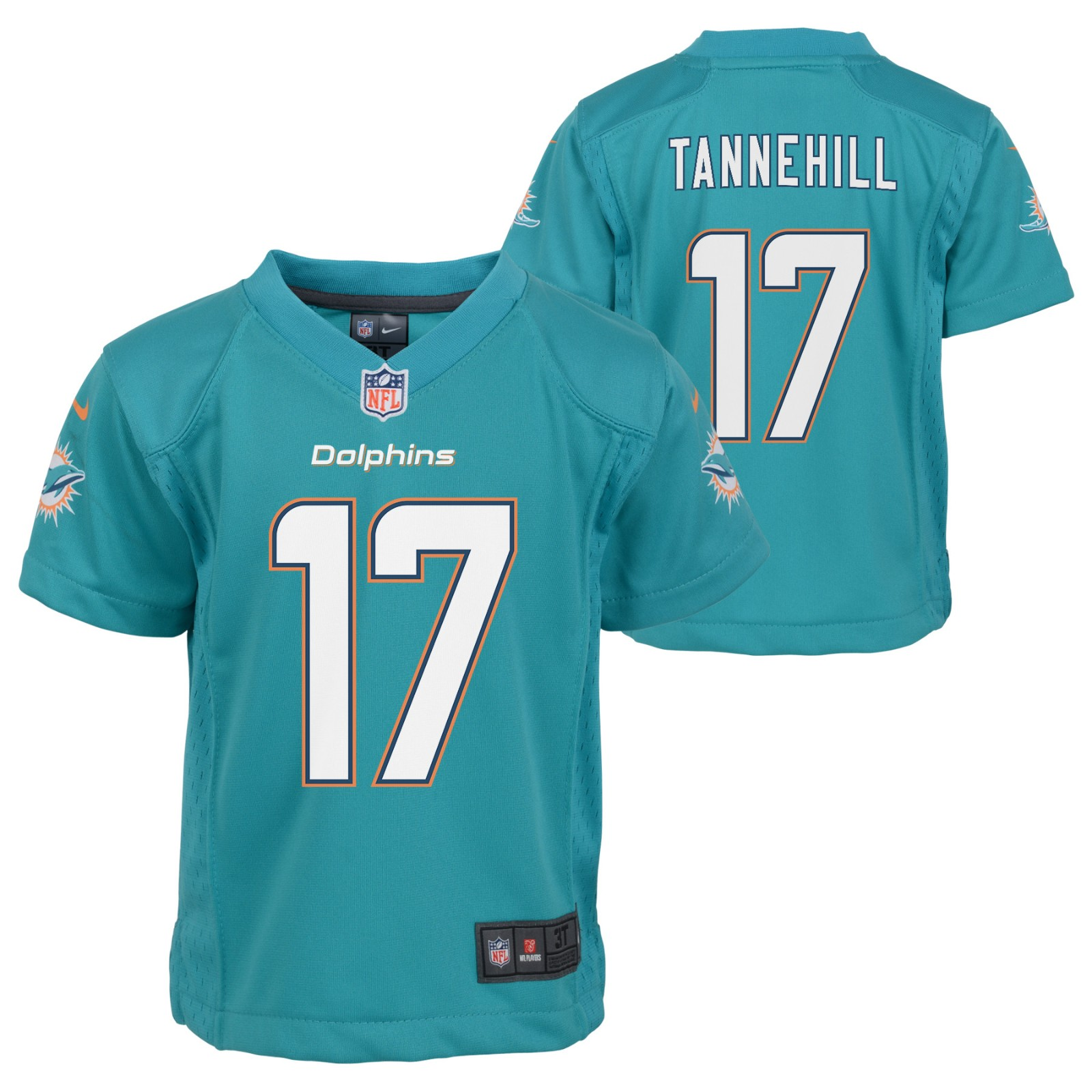 the latest 92a61 f1c22 Details about Ryan Tannehill Miami Dolphins NFL Nike Boys Teal Game Jersey