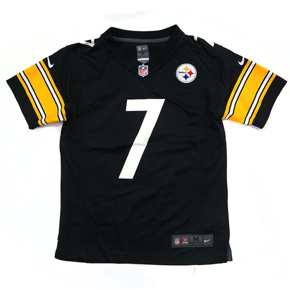 c181a3c9b Ben Roethlisberger Pittsburgh Steelers NFL Nike Youth Black Game Jersey