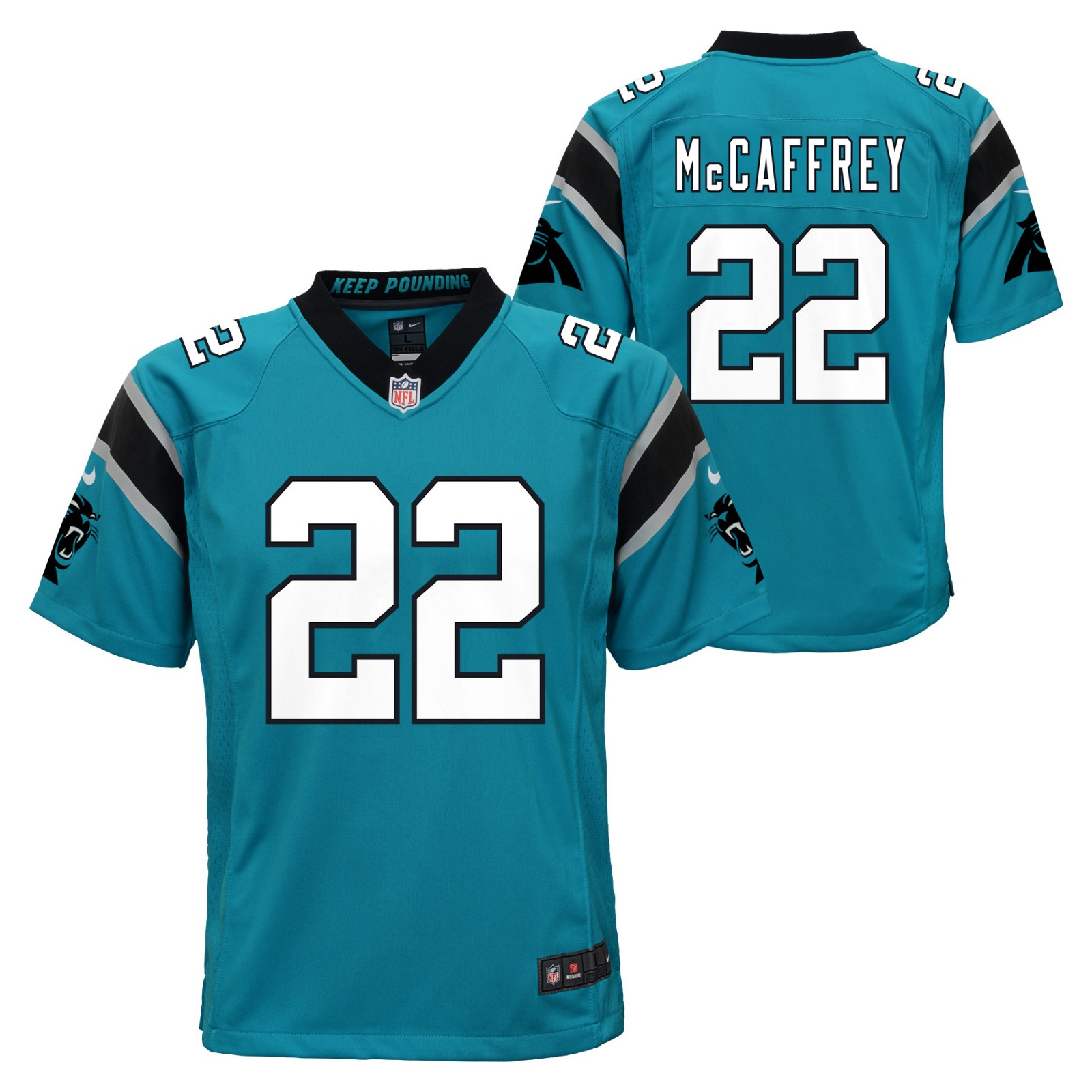 Christian McCaffrey Carolina Panthers NFL Nike Youth Blue Game Jersey 79230486b