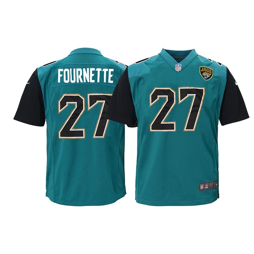 Leonard Fournette Jacksonville Jaguars NFL Youth Nike Teal Alt ...
