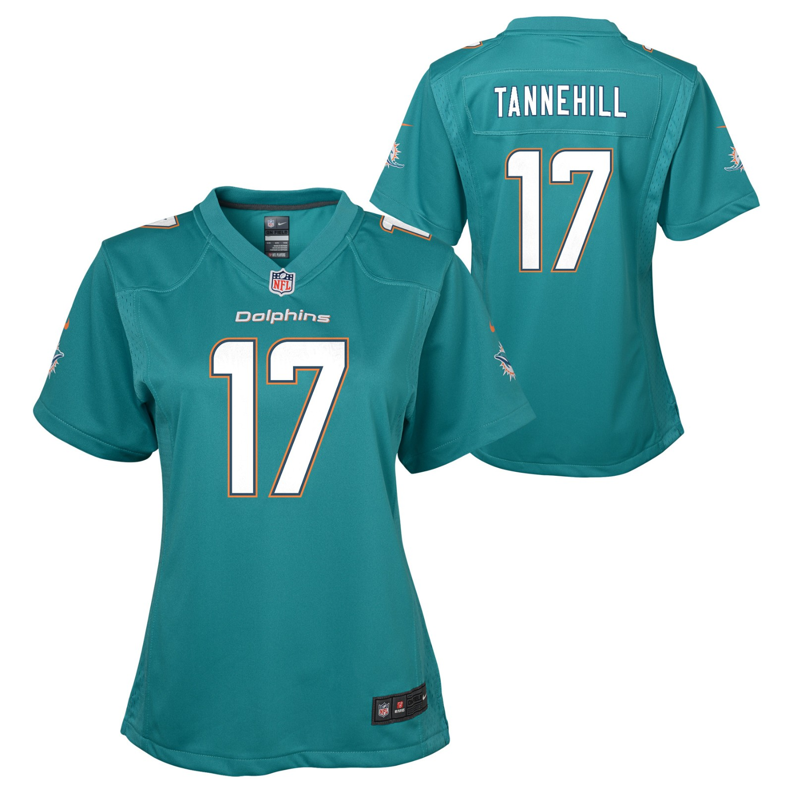 079b1381 Details about Ryan Tannehill Miami Dolphins NFL Nike Girls Youth Teal Game  Jersey