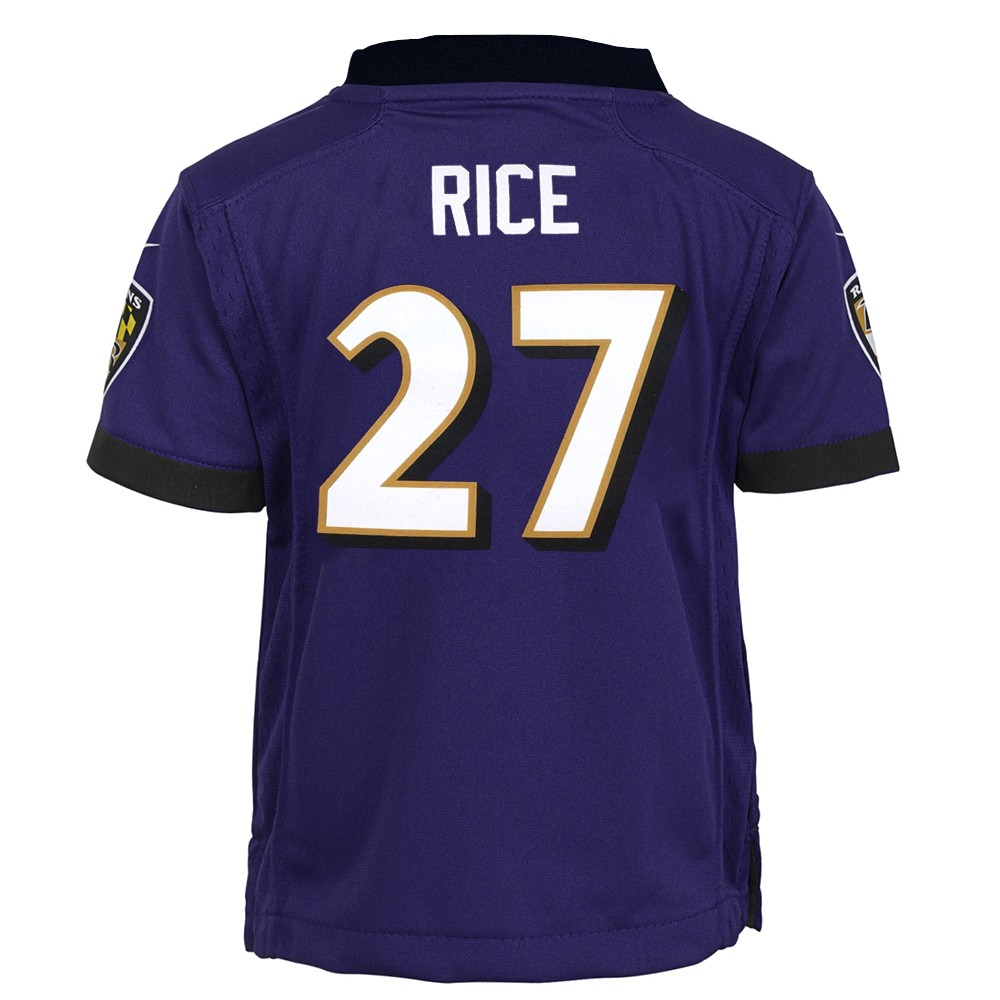 Ray Rice Baltimore Ravens Nike Home Purple Infant Game Jersey (12M ...
