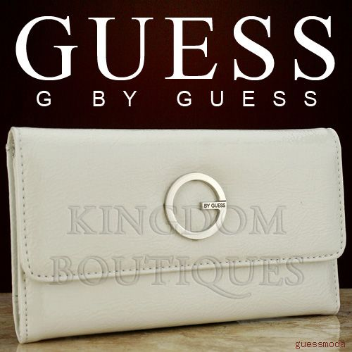 Details about Brand New Rare Collections GuEsS SLG Wallet Ladies Spy Cat White Women