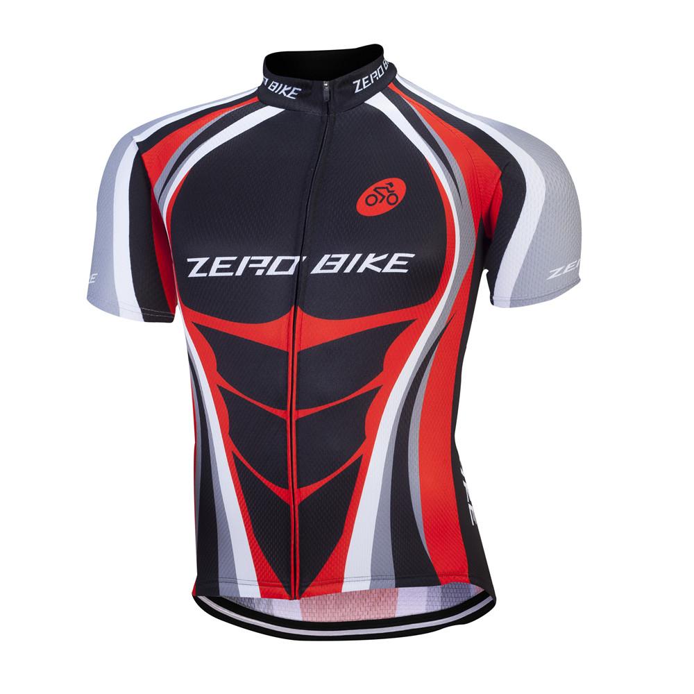 Herren Fahrradbekleidung Atmungsaktiv Radsport Fahrradtrikot Radlerhose Kurzarm