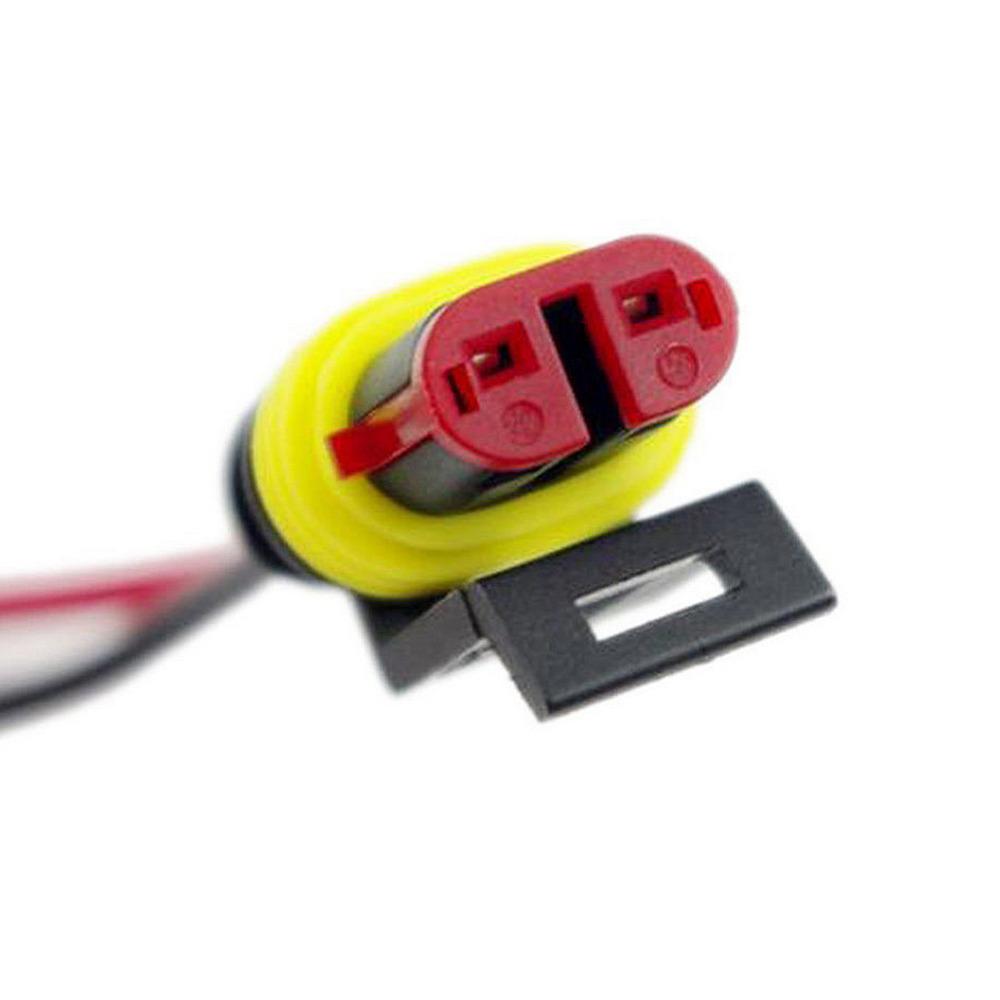 2 polig kabel steckverbinder stecker wasserdicht schnellverbinder kfz lkw auto ebay. Black Bedroom Furniture Sets. Home Design Ideas