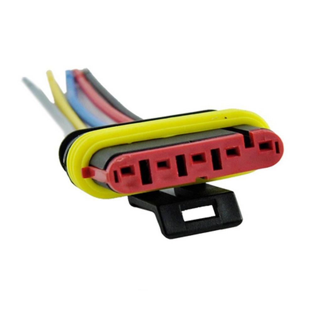 5x 5 polig kabel steckverbinder stecker wasserdicht schnellverbinder kfz lkw ebay. Black Bedroom Furniture Sets. Home Design Ideas