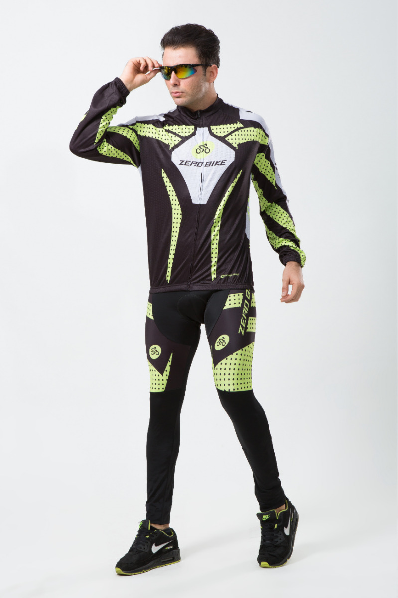 Winter Cycling Jacket Windproof Sportswear Bicycle Pants Bike Suits Clothing