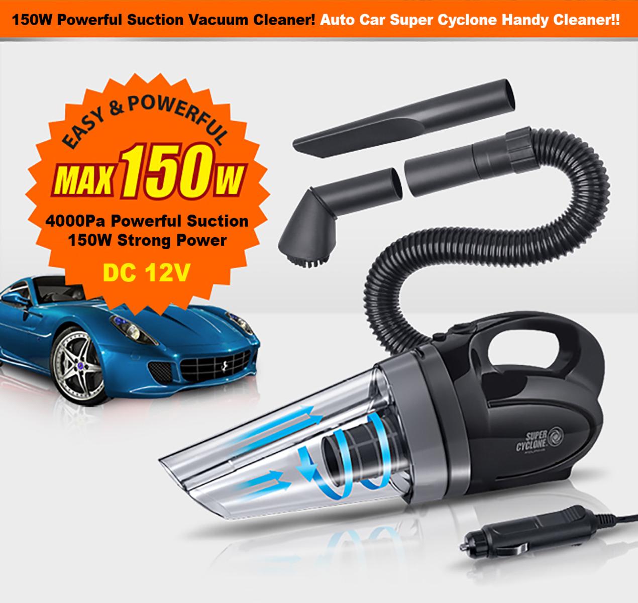 Convenient Portable Vacuum For Quick Clean Ups Around The Car