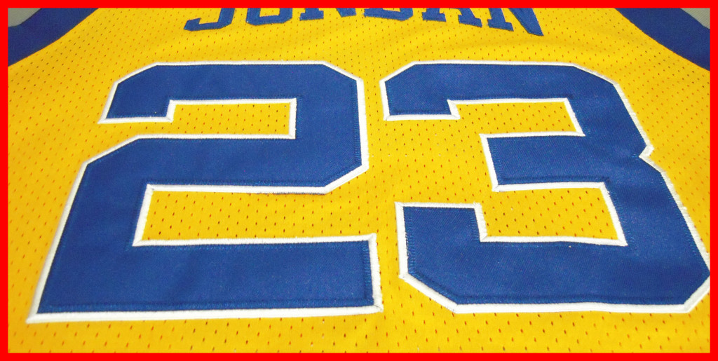 Michael Jordan Laney High School Yellow Jersey