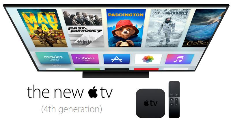 apple tv 4th generation software update