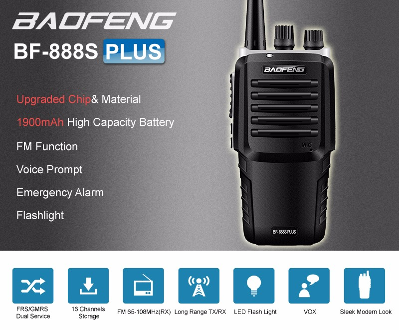 baofeng upgraded BF-888S
