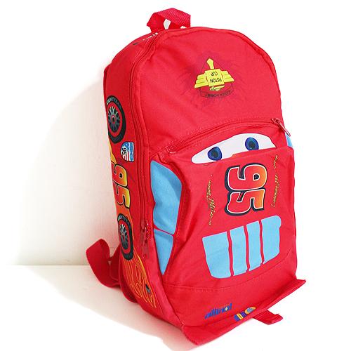 41525f3fcc1 Disney Cars McQueen Backpack 37CM School Bag for Child + Baseball ...
