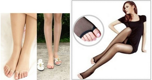 toe pantyhose Seamless