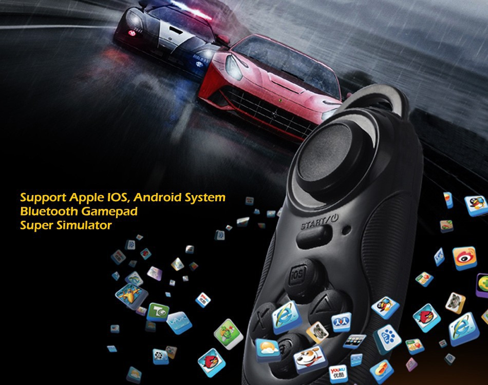 vr games for iphone wireless bluetooth gamepad remote controller joystick for 1721