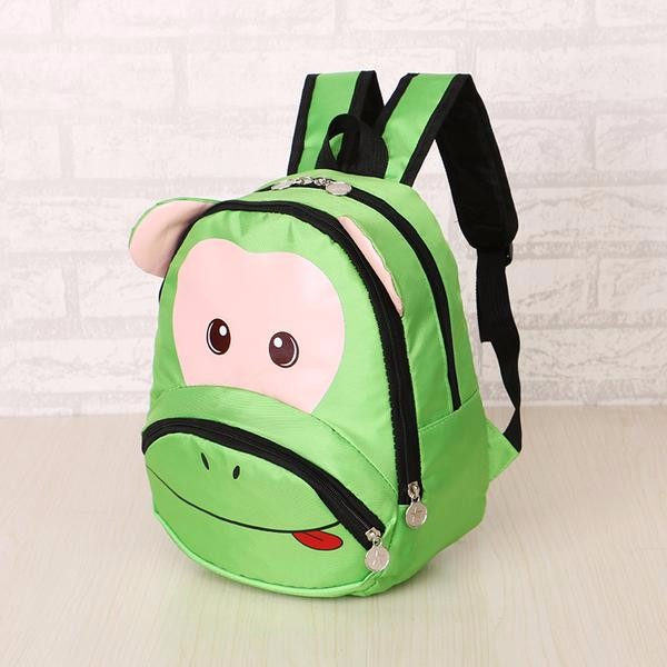 Details about School Bag Backpack Pink Monkey Kid Children Boy Girl canvas waterproof  bag 5db75a91b4894