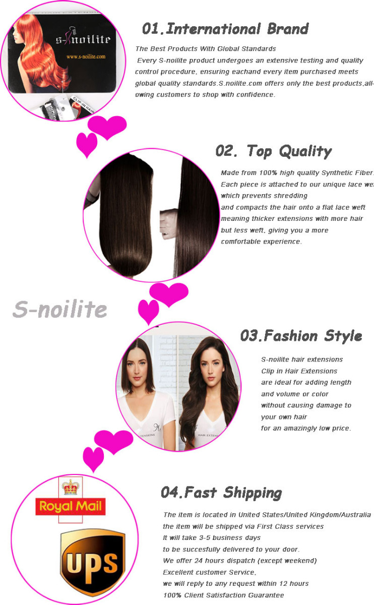 Clip In Ponytail Pony Tail Hair Extension Wrap On Hair Piece Wavy