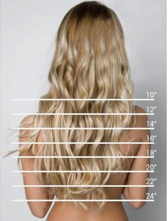 Thick Volume Remy 100 Human Hair Extensions Clip In Full Head
