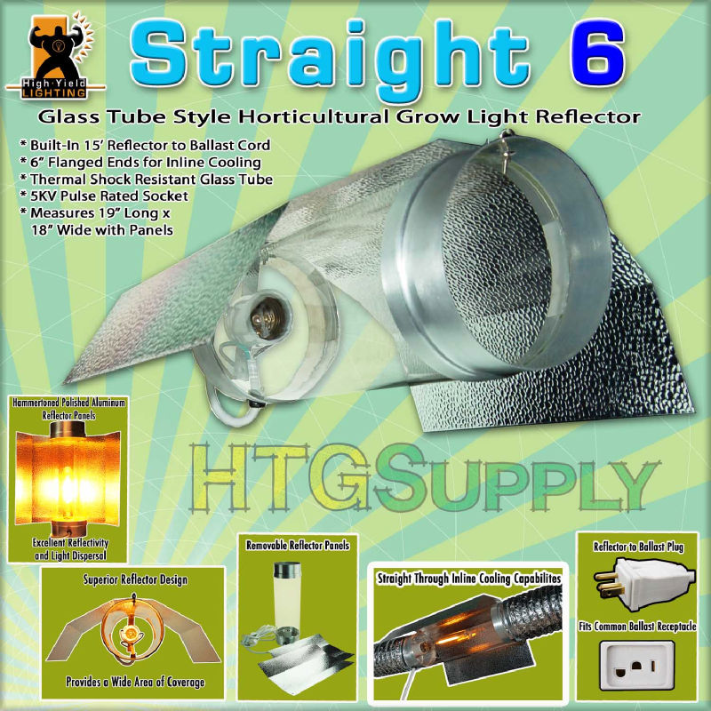 Digital 600W HPS Grow Light 600 Watt Sodium System Hood